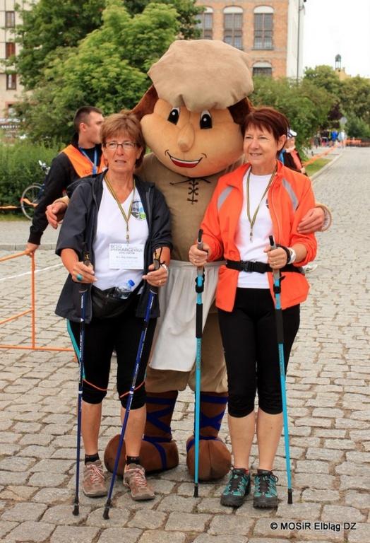Elbląg: Puchar Europy w Nordic Walking