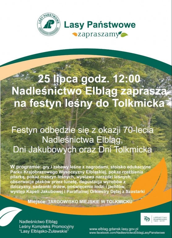Festyn leśny w Tolkmicku