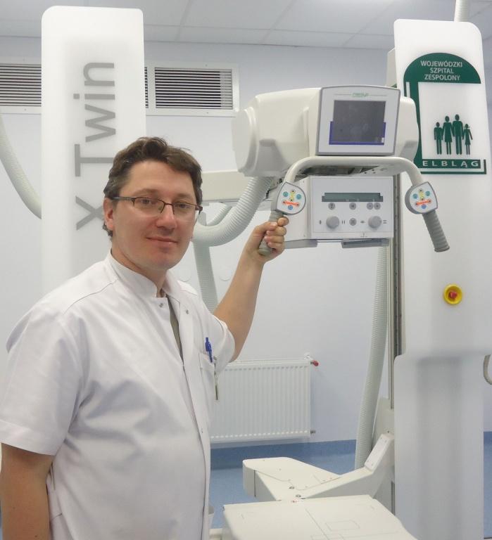 Elbląg: Nowy rentgen w szpitalu wojewódzkim