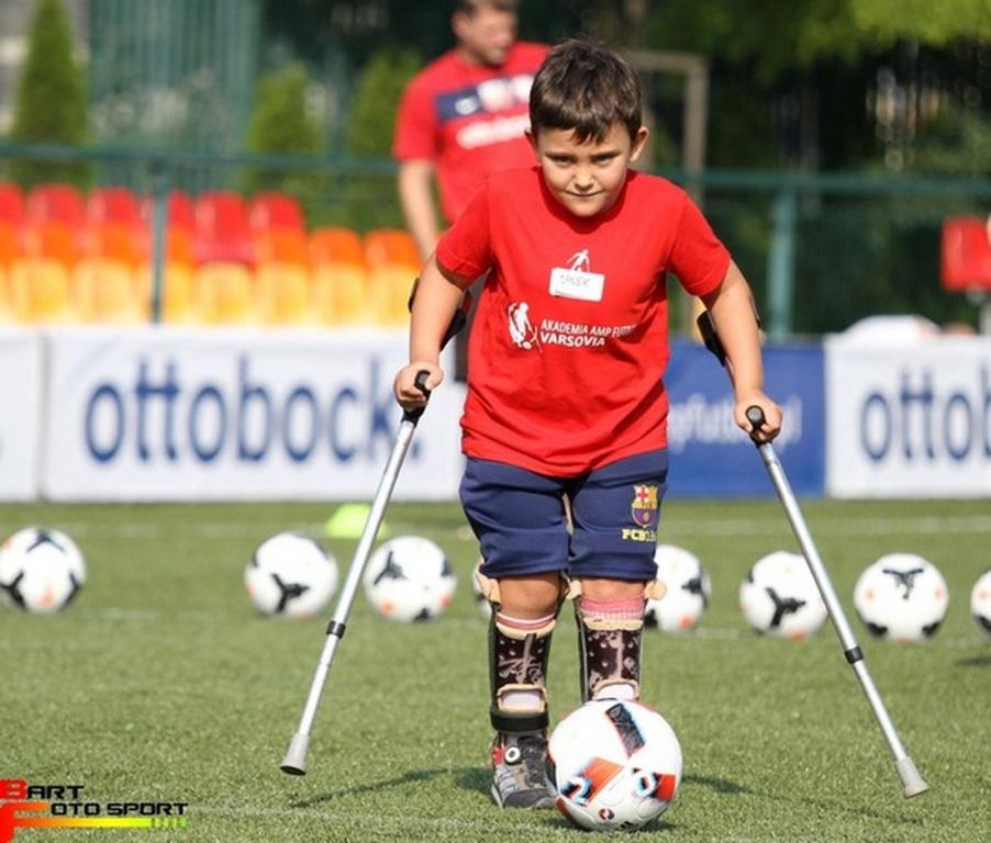 Sport: Niepełnosprawni piłkarze na start