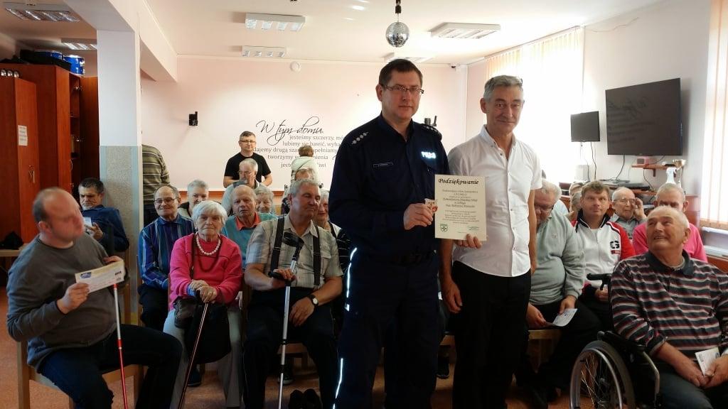 Elbląg: Z seniorami i niepełnosprawnymi o bezpieczeństwie