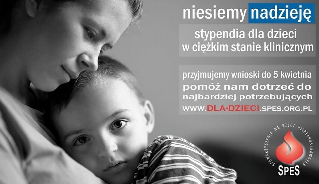 Olsztyn: Opiekujesz się dzieckiem w ciężkim stanie klinicznym? Złóż wniosek o stypendium