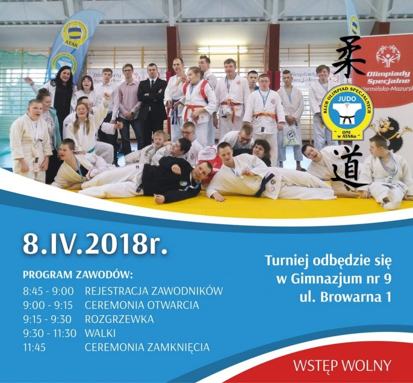 Sport: Turniej Olimpiad Specjalnych w Judo