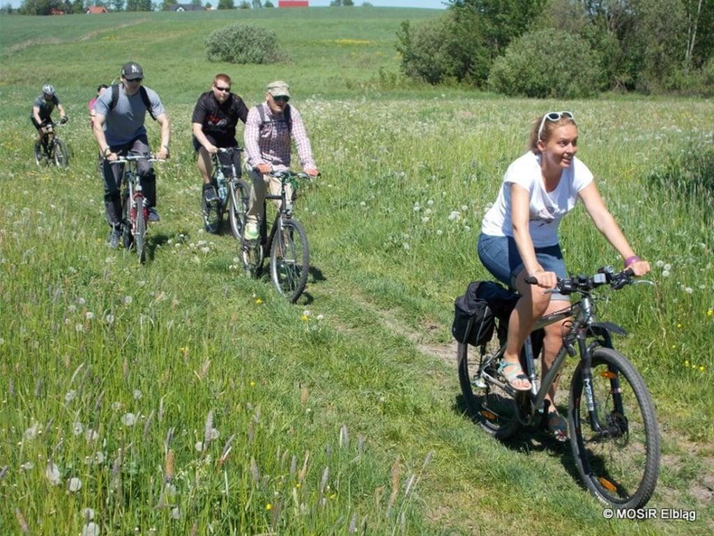 Elbląg: Rowerowa wspinaczka do Milejewa