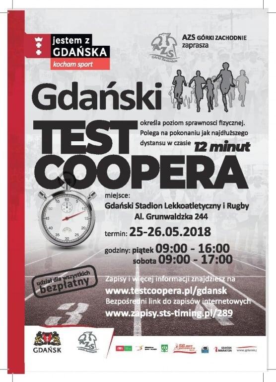 Sport: Ruszyły zapisy na III Gdański Test Coopera