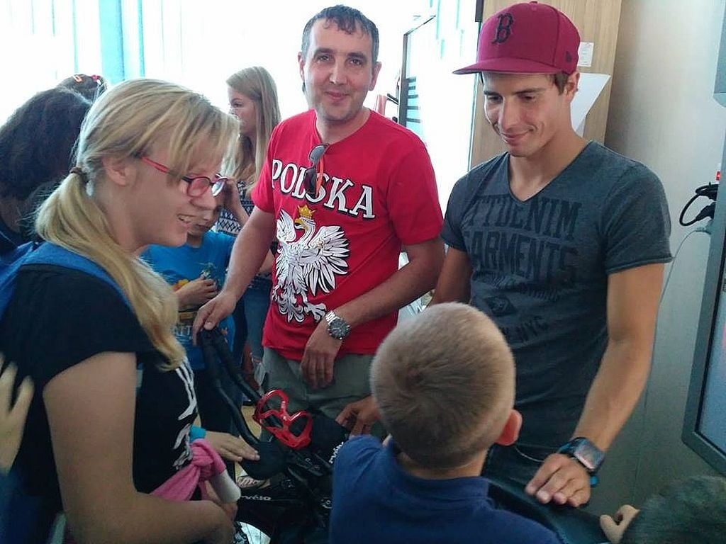 Elbląg: O sporcie i miłości do Polski