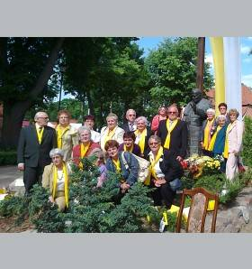 Pomnik Jana Pawła II stanął w Klebarku Wielkim