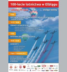 W sobotę obchody 100-lecia lotnictwa w Elblągu