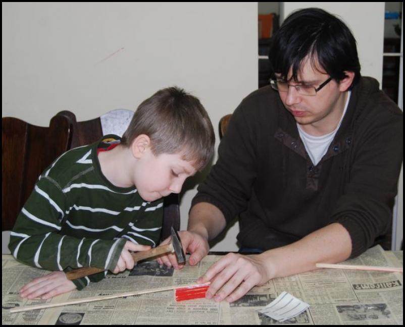 Mikołajkowe Warsztaty Modelarskie dla najmłodszych