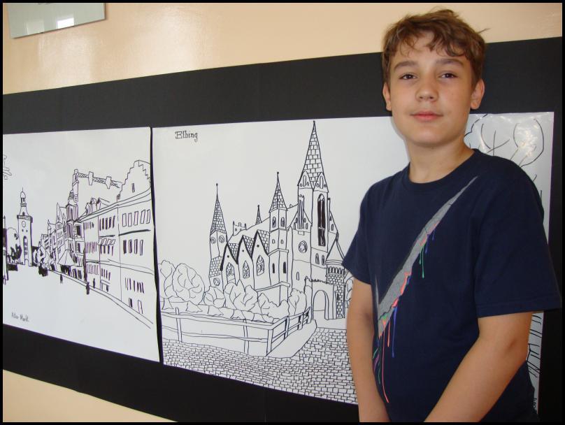 Zadziwiający talent młodego artysty