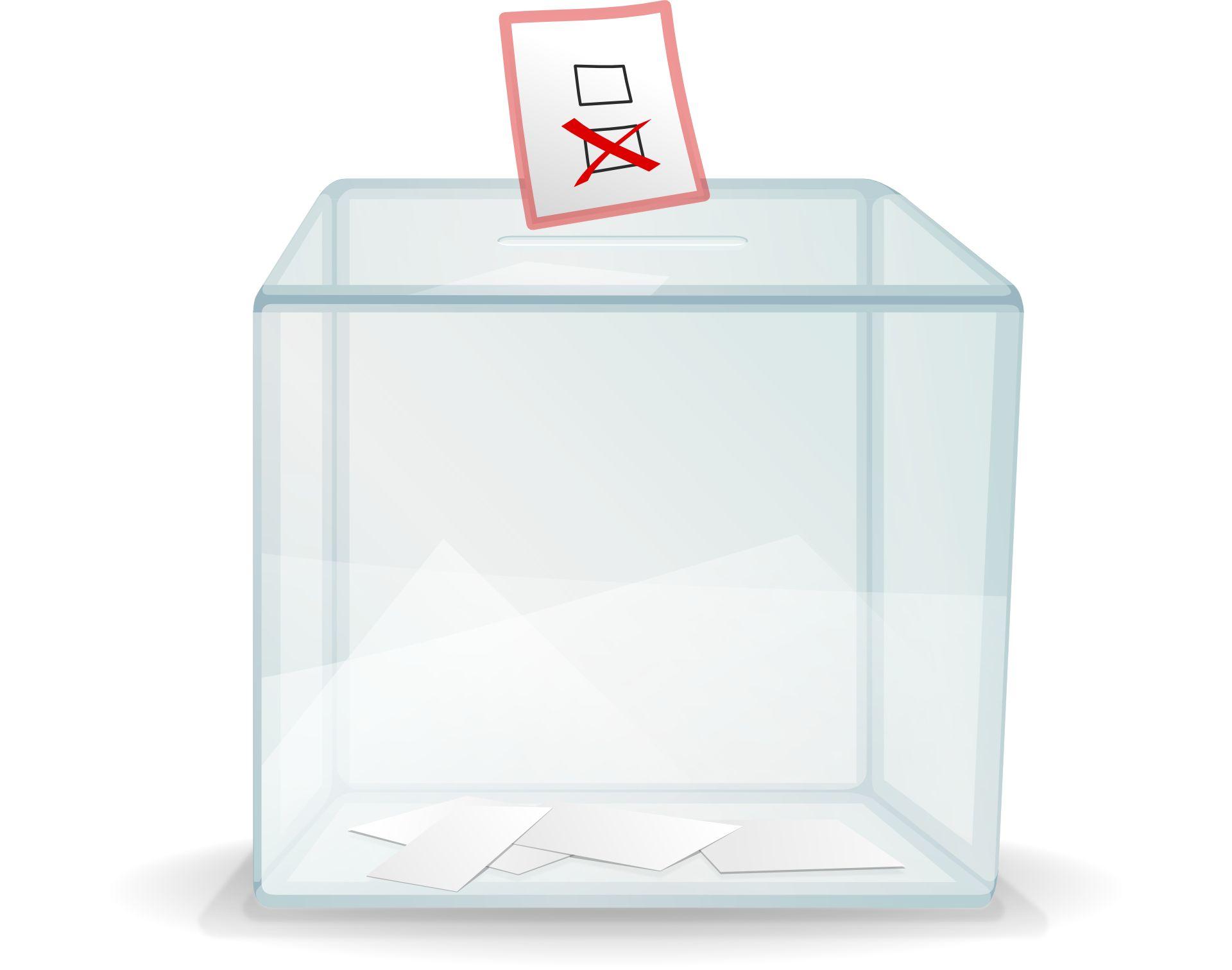 Projekt MZ ws. wyborów: Członkowie komisji w rękawiczkach i przyłbicach, urny dezynfekowane