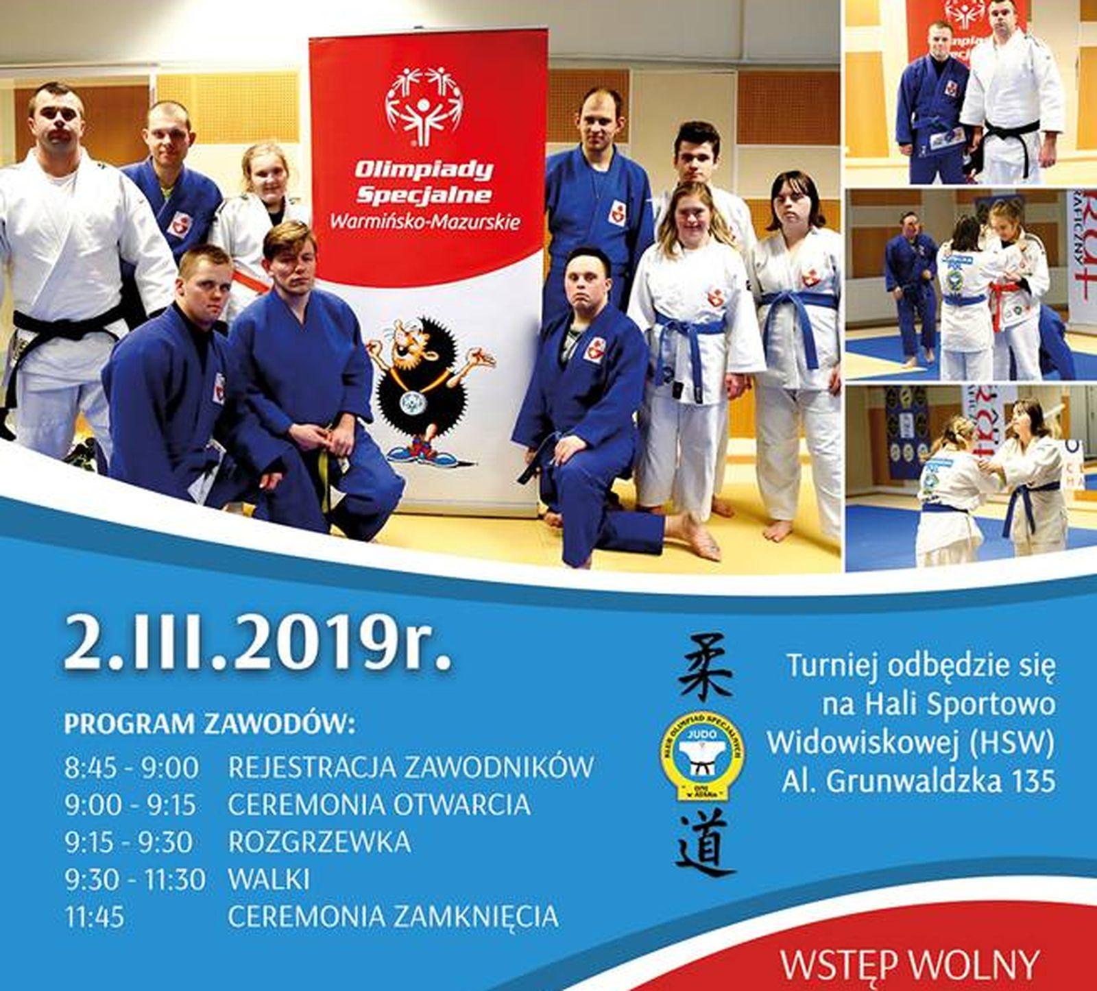 Turniej w Judo Olimpiad Specjalnych