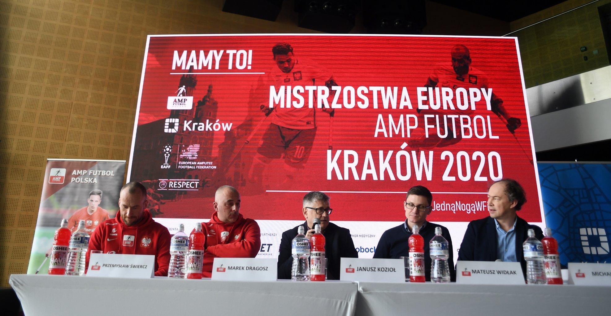 Kraków organizatorem ME w Amp Futbolu!