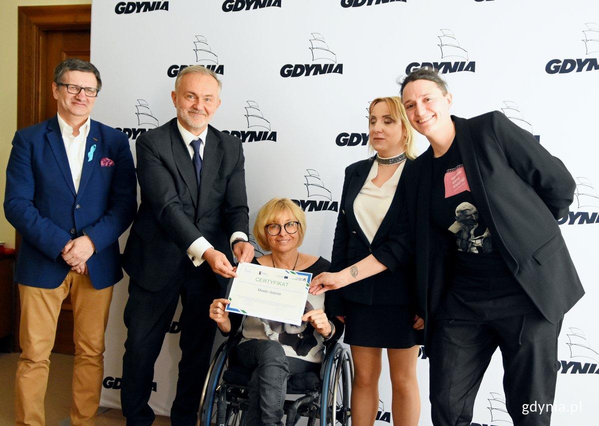 Gdynia: Miasto z certyfikatem dostępności