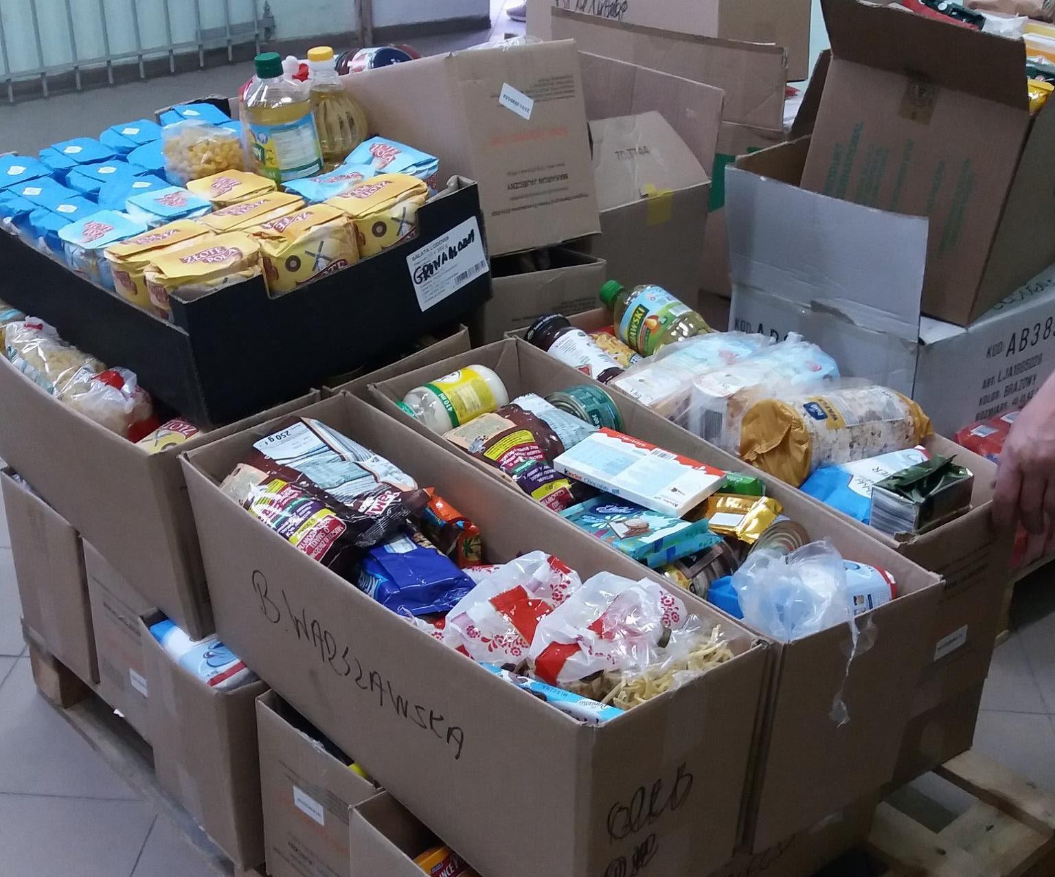 Rusza Wielkanocna Zbiórka Żywności w Elblągu