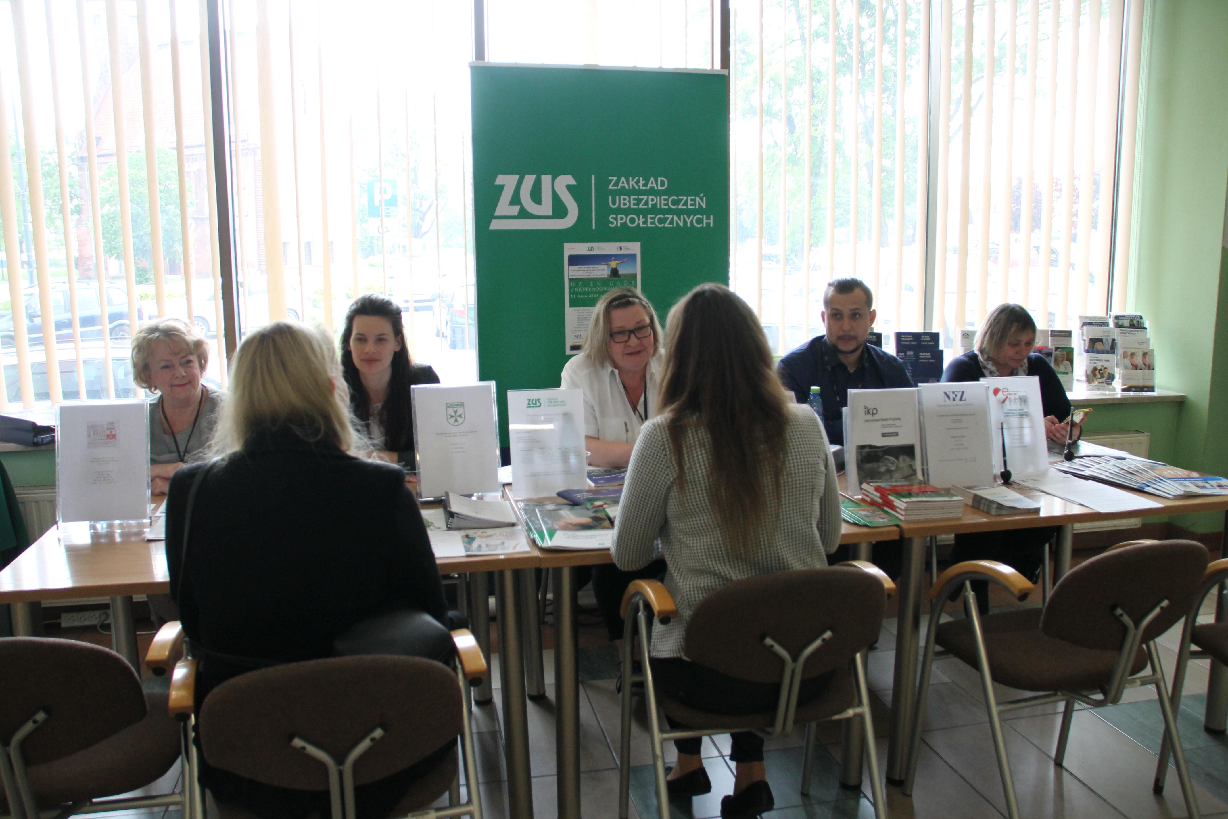 Dzień Osób z niepełnosprawnością w Oddziale ZUS w Elblągu