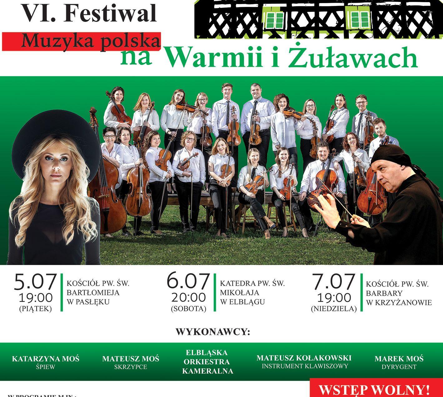 Muzyka polska powraca nad Warmię i Żuławy