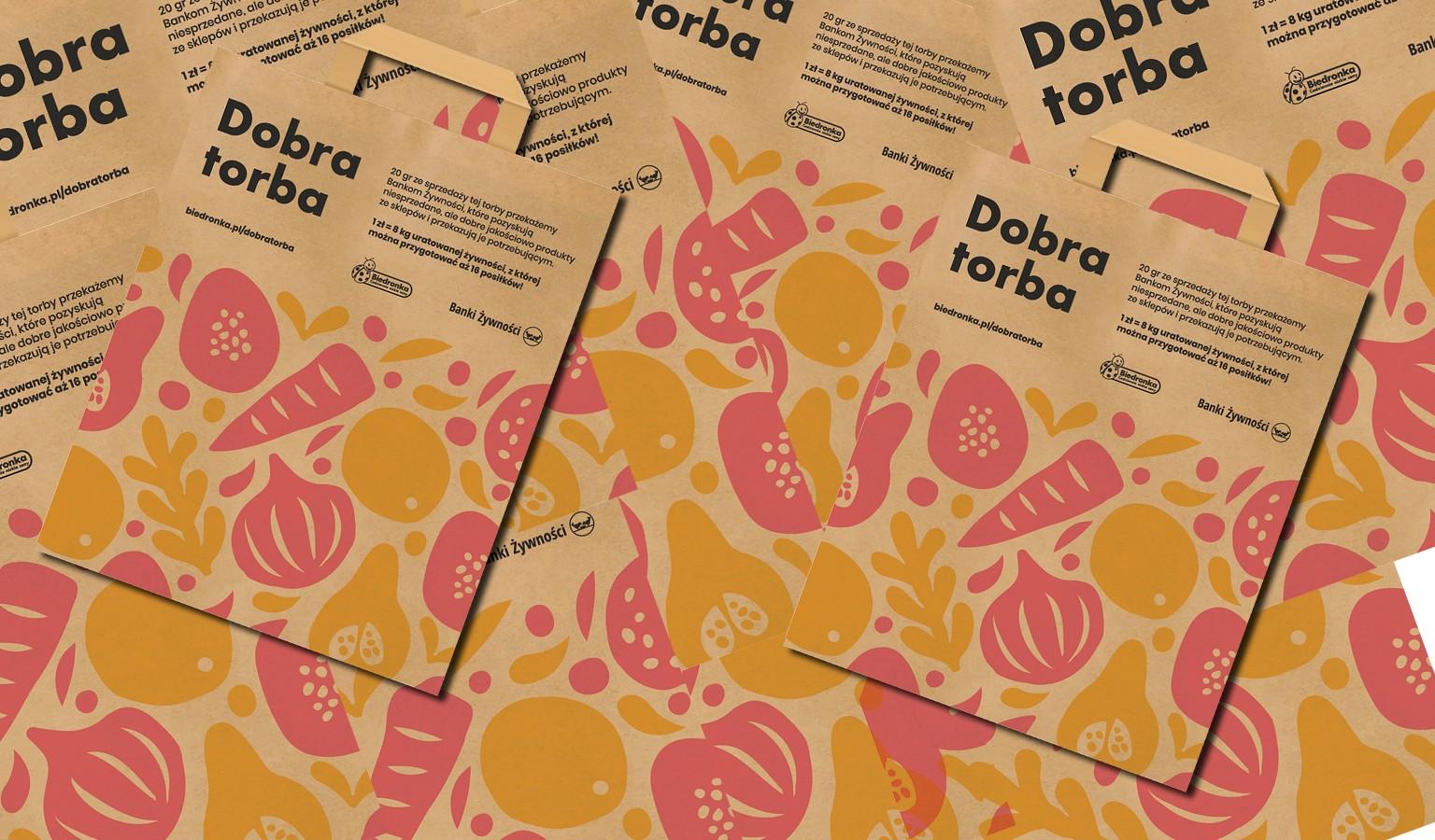 Papierowe torby w Biedronce. Część dochodu dla Banków Żywności
