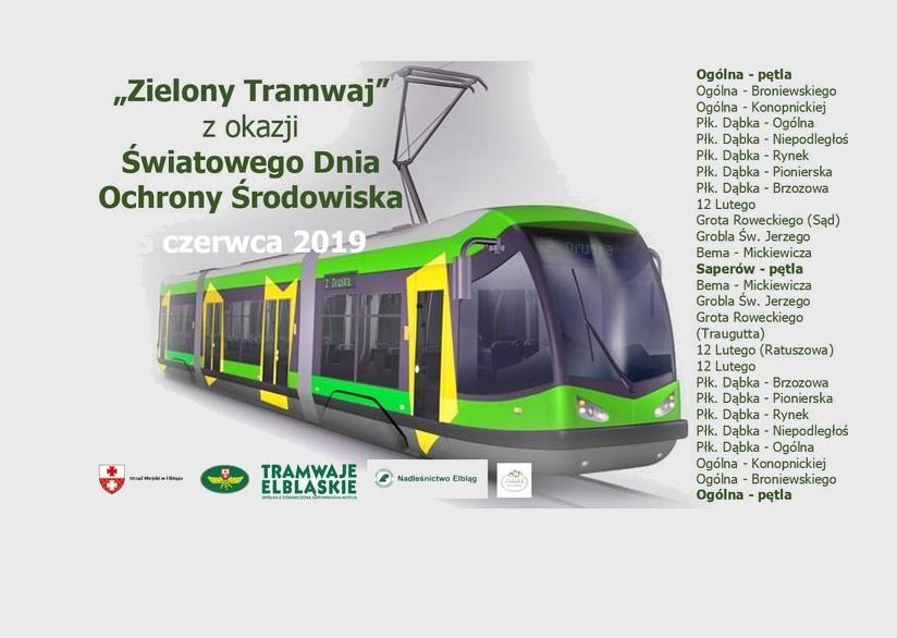 """""""Zielony tramwaj"""" wyruszy w miasto"""