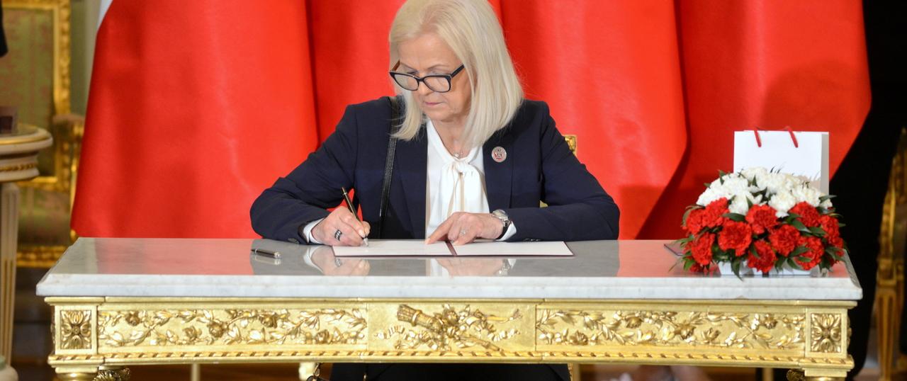 Bożena Borys-Szopa nowym ministrem rodziny, pracy i polityki społecznej