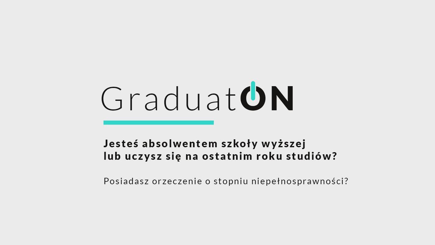 """Projekt """"GraduatON"""" wspiera osoby z niepełnosprawnością"""