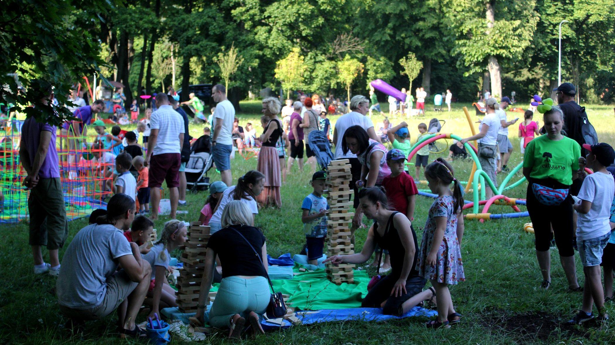 Aktywny weekend w Parku Modrzewie