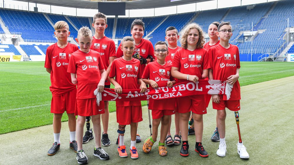 "Amp Futbol Junior Camp: ""Wakacje na boisku, to najlepsze wakacje"""