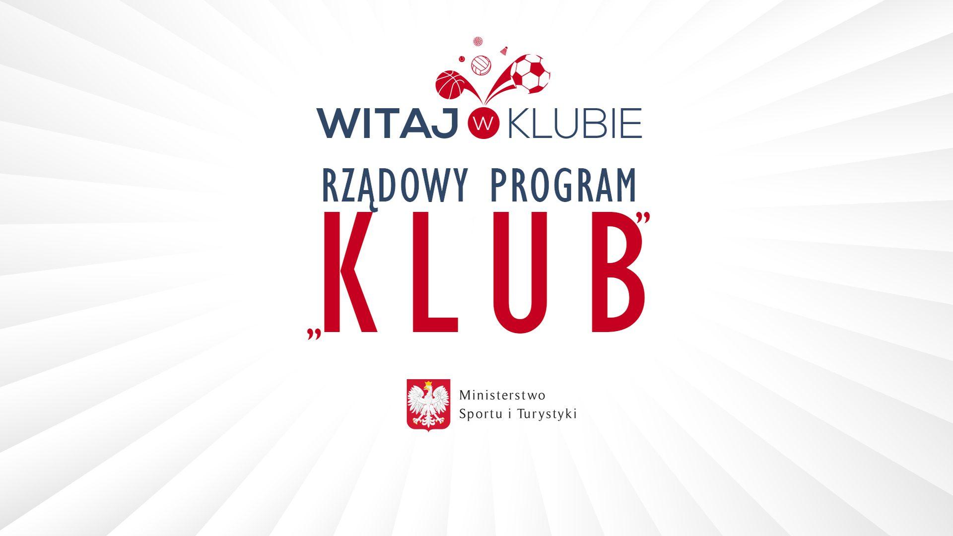 Program Klub 2019 - zobacz, kto dostał dofinansowanie