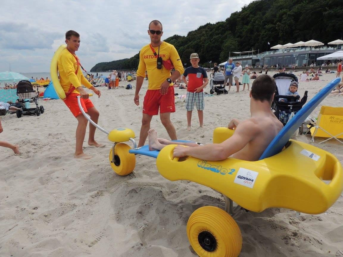 Gdyńskie plaże dla wszystkich