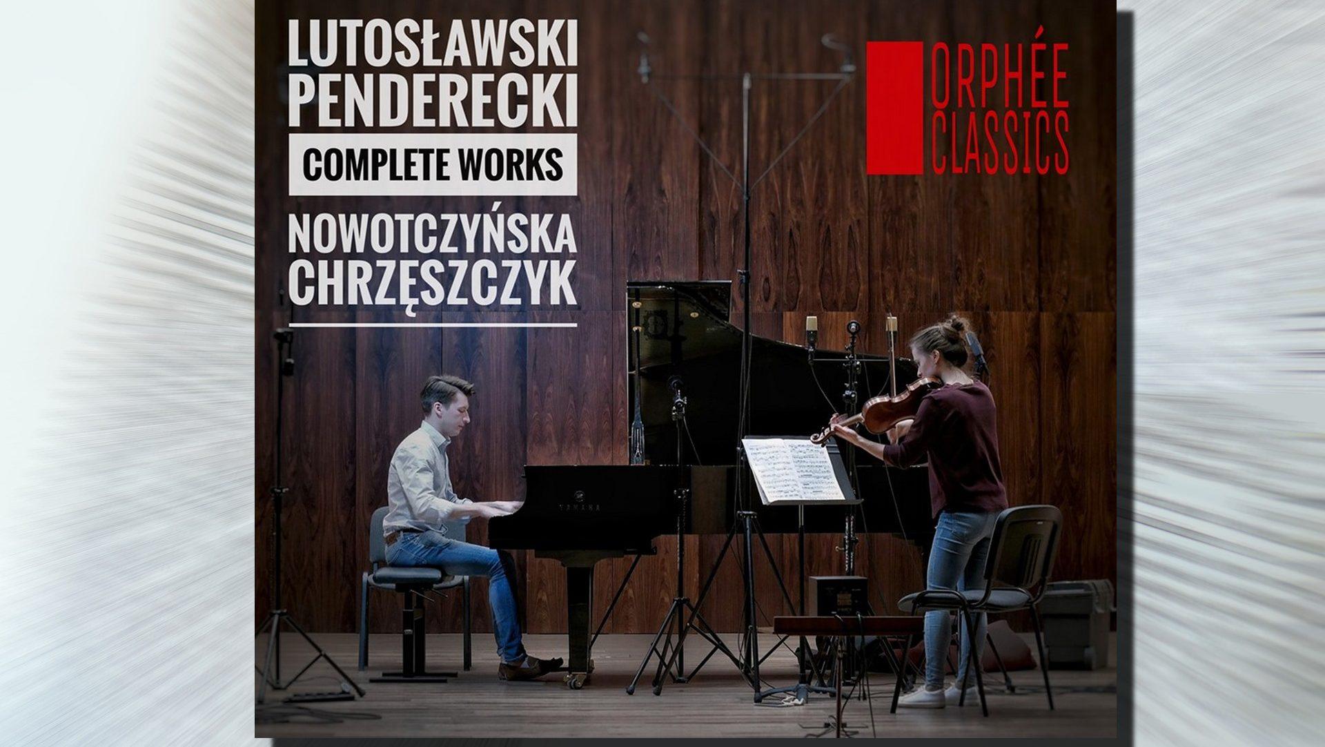 Penderecki & Lutosławski – nowa płyta Karoliny Nowotczyńskiej