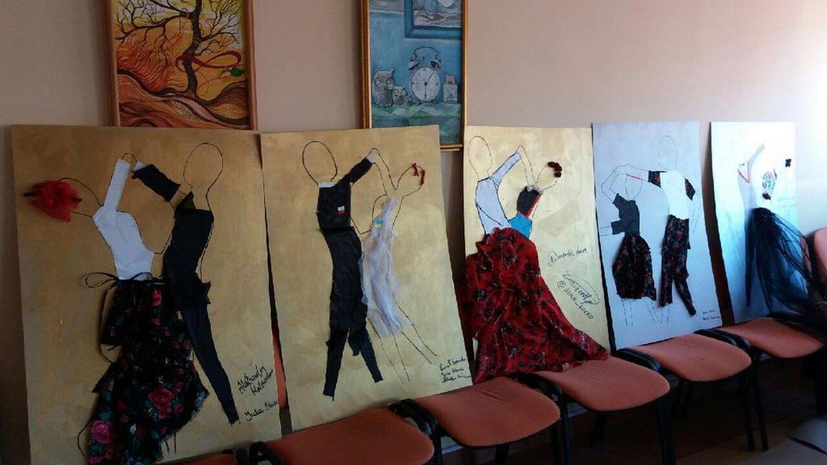 Taniec bez granic – wystawy prac
