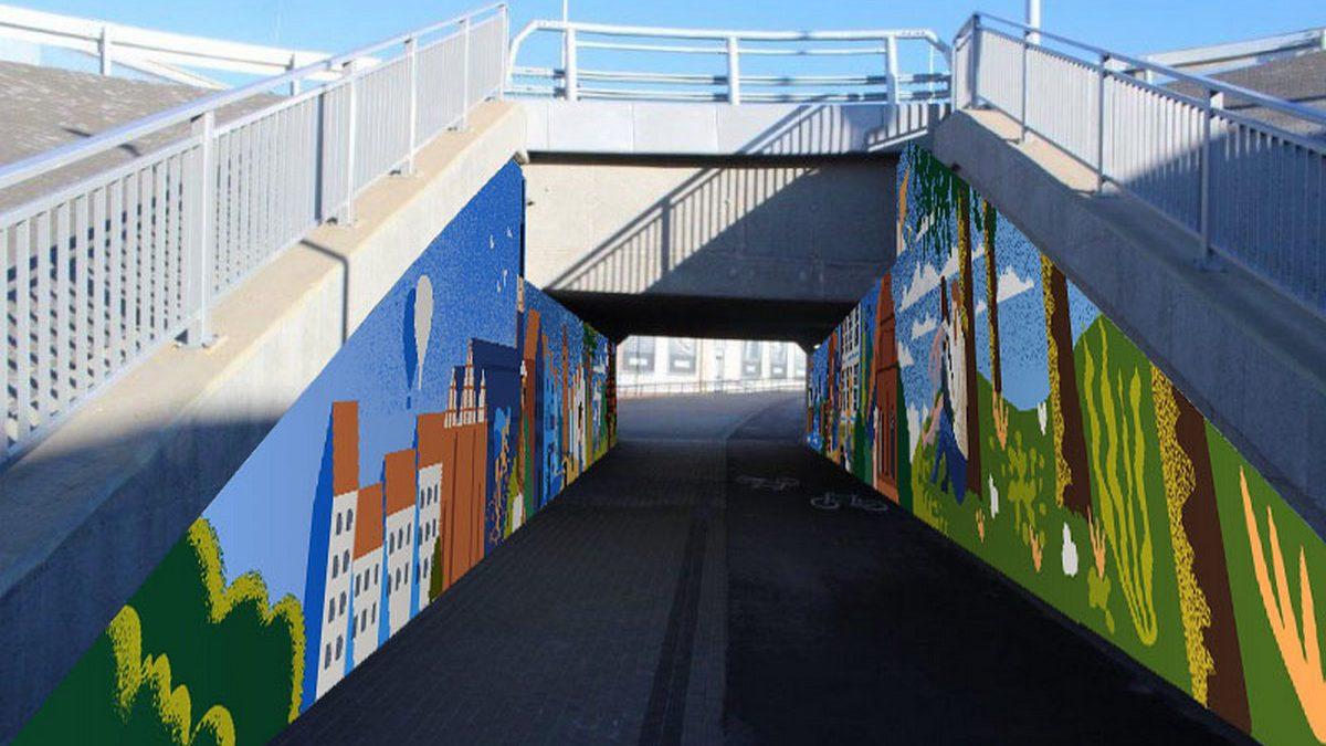 Wiemy jak będzie wyglądał mural przy ul. Lotniczej