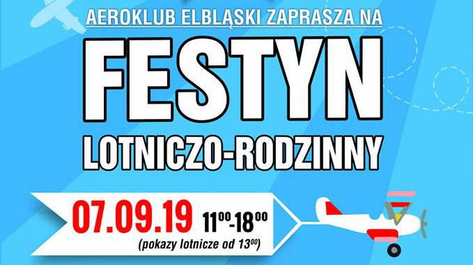 Elbląski Aeroklub zaprasza na festyn