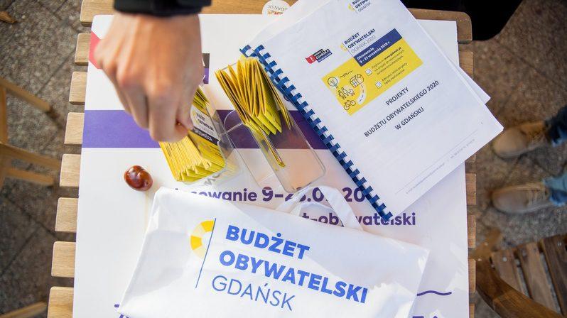 Budżet Obywatelski 2020 – Gdańsk już wybrał