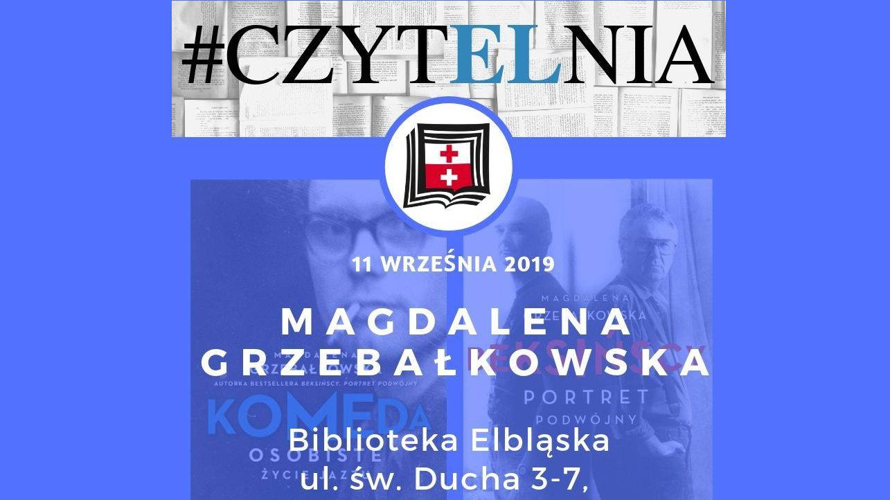 Spotkanie z Magdaleną Grzebałkowską