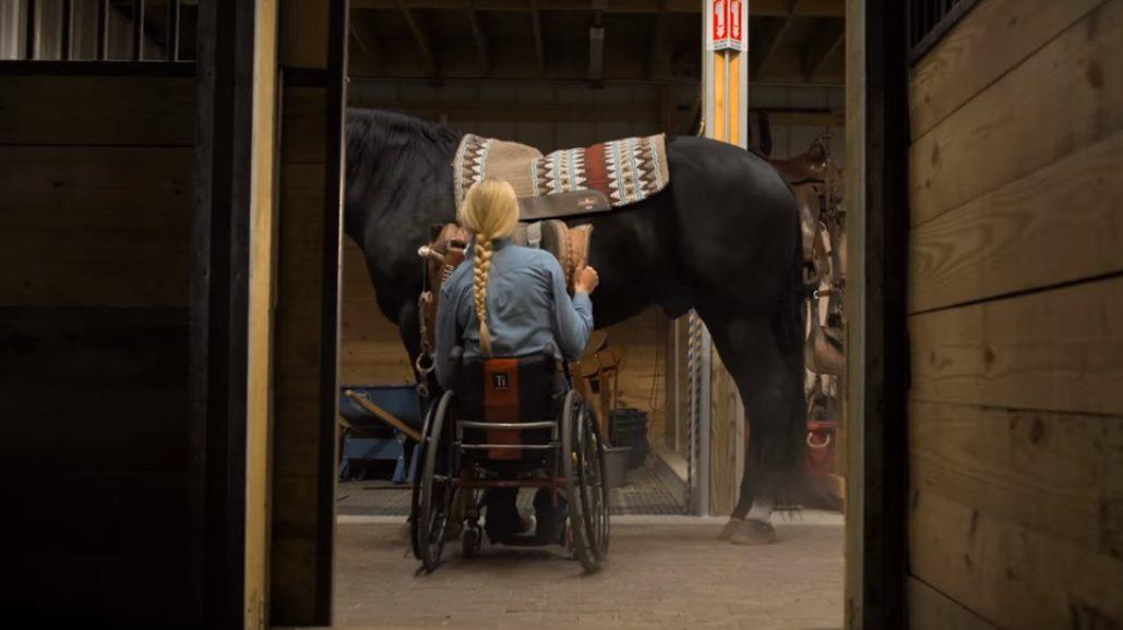 Z wózka na rodeo