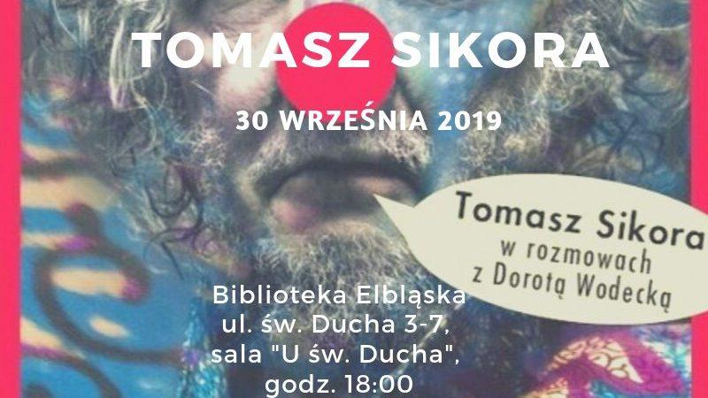 """Spotkanie z Tomaszem Sikorą i wernisaż wystawy """"Jesteśmy"""""""