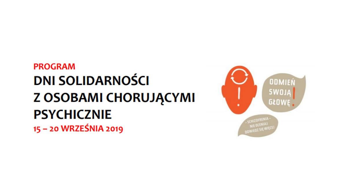 Gdańsk: W niedzielę rozpoczynają się Dni Solidarności z Osobami Chorującymi Psychicznie