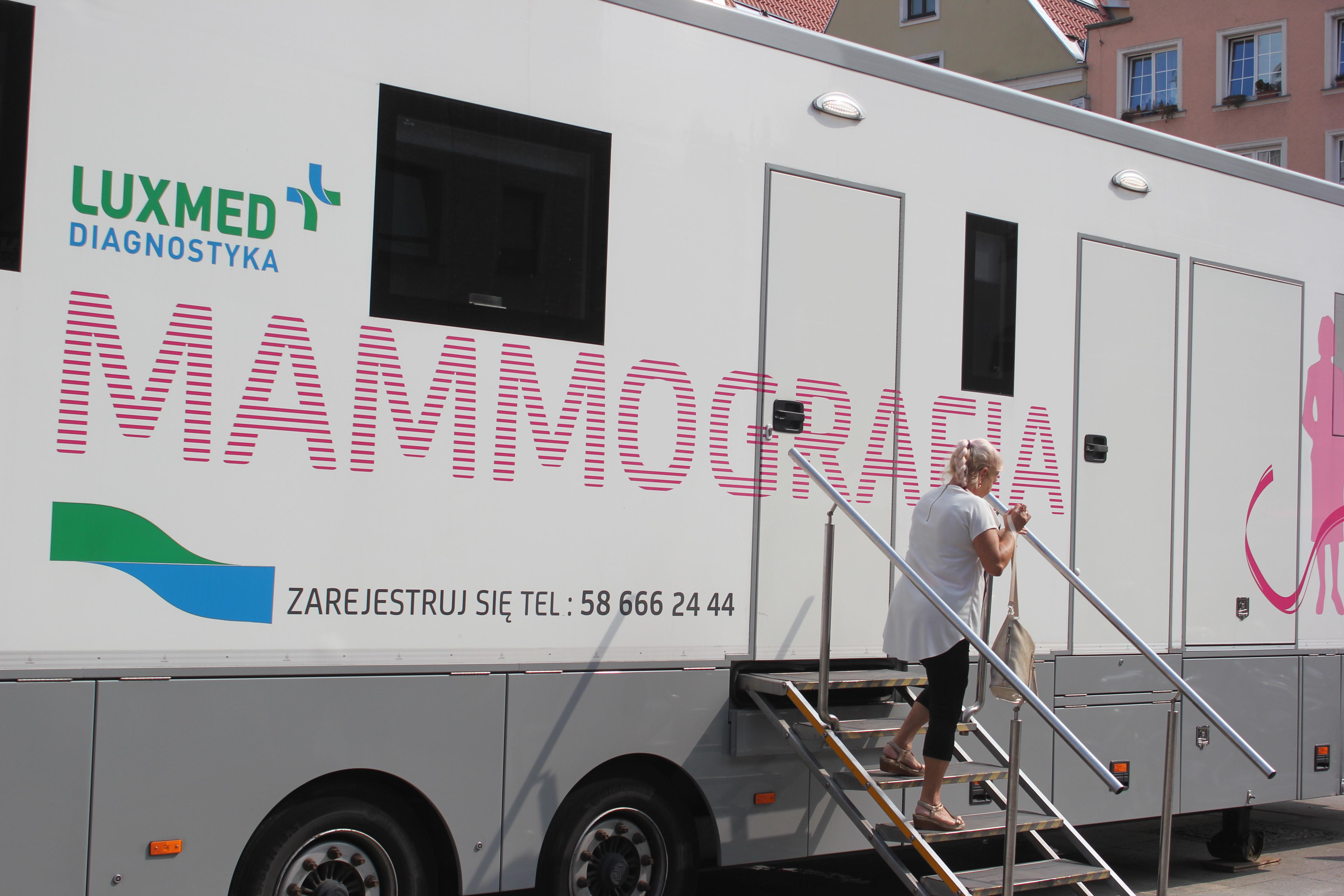 Chełmża: Bezpłatna mammografia