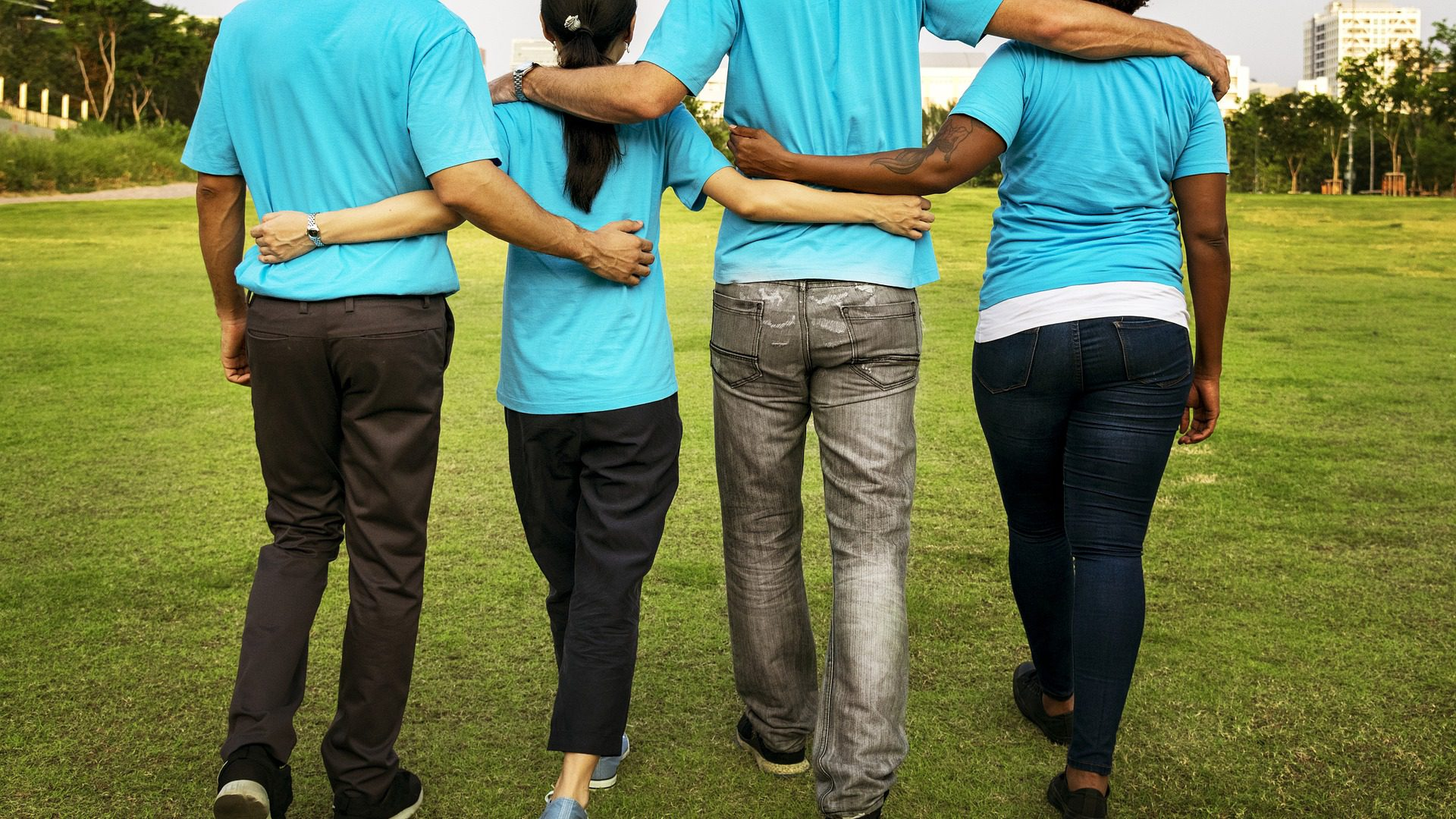 Niebieskie wsparcie