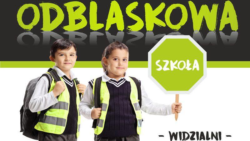 Odblaskowy marsz w Krakowie