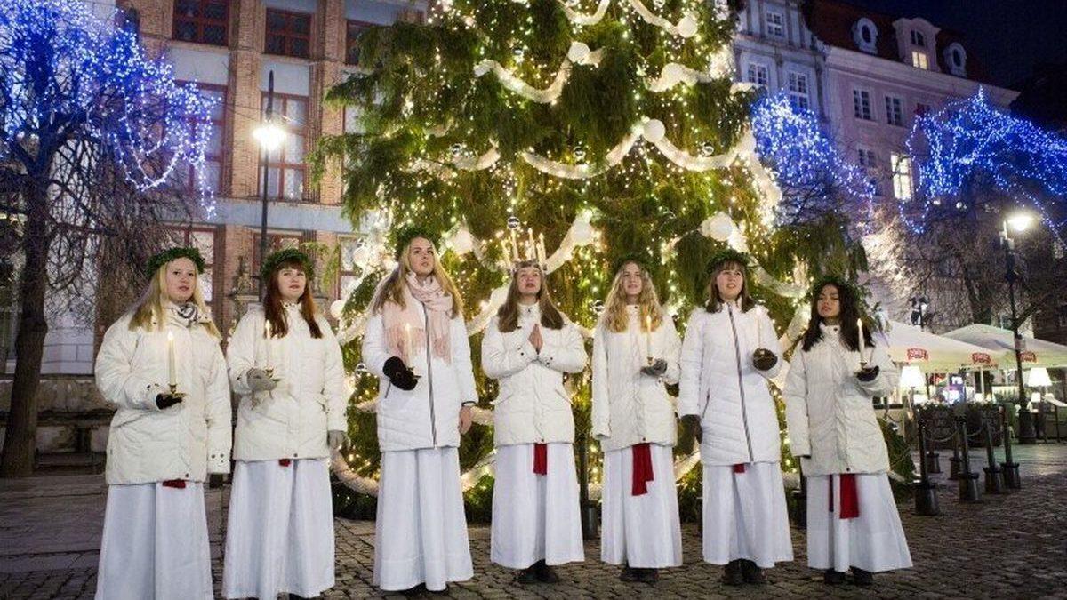 Święta Łucja w Gdańsku