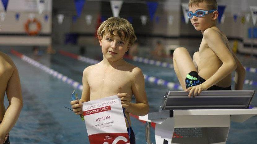 II Pływacka Sztafeta Niepodległości