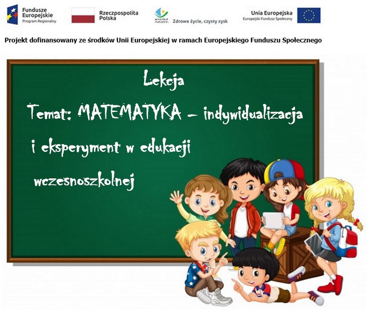 Eksperyment w edukacji wczesnoszkolnej – rekrutacja nauczycieli