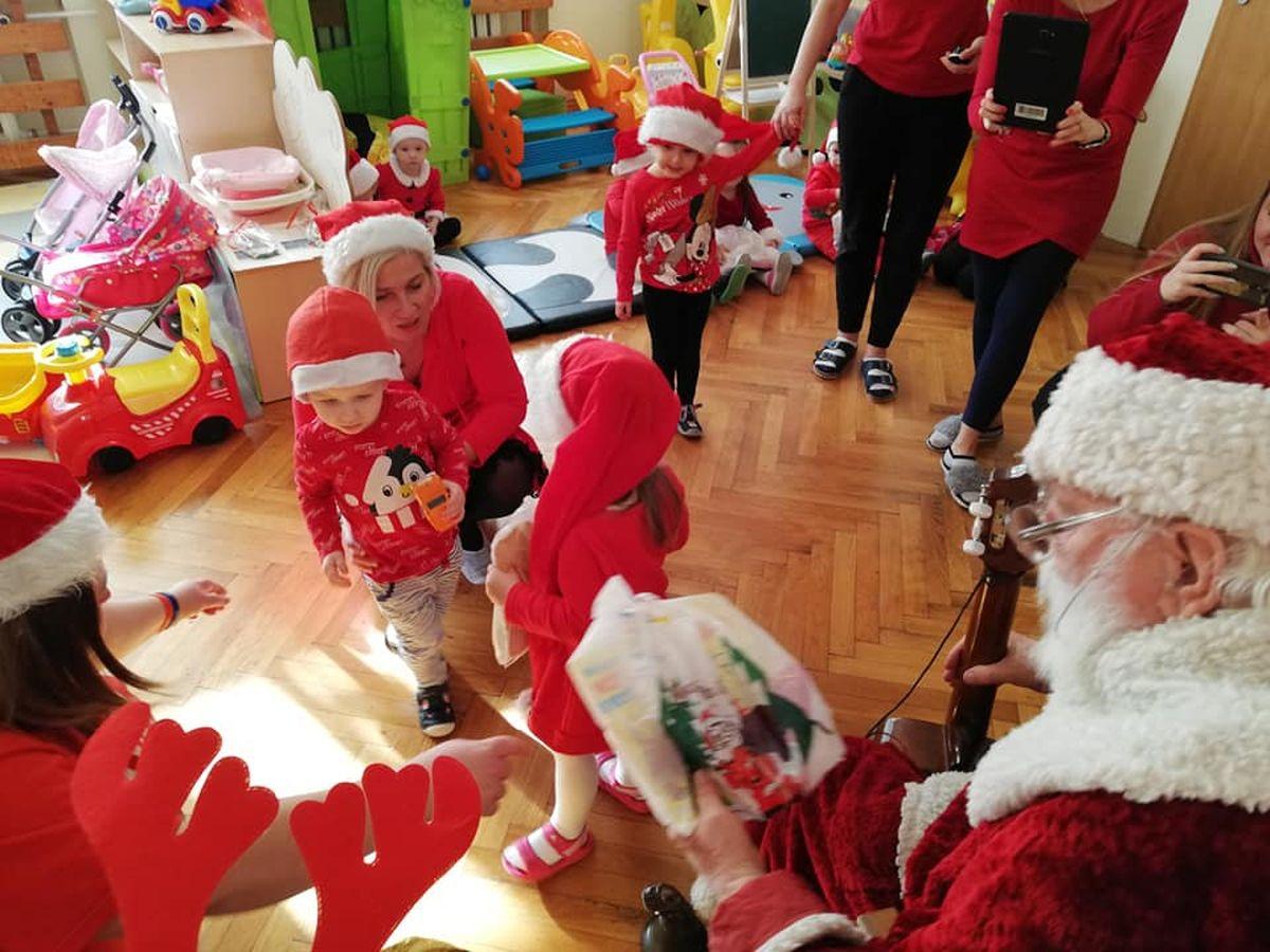 Słodki Mikołaj dla potrzebujących
