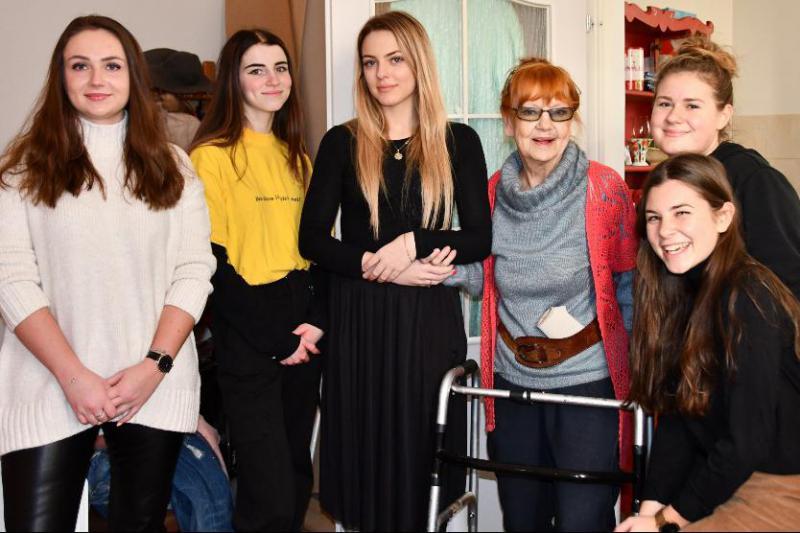 Świąteczny uśmiech dla sopockiego seniora