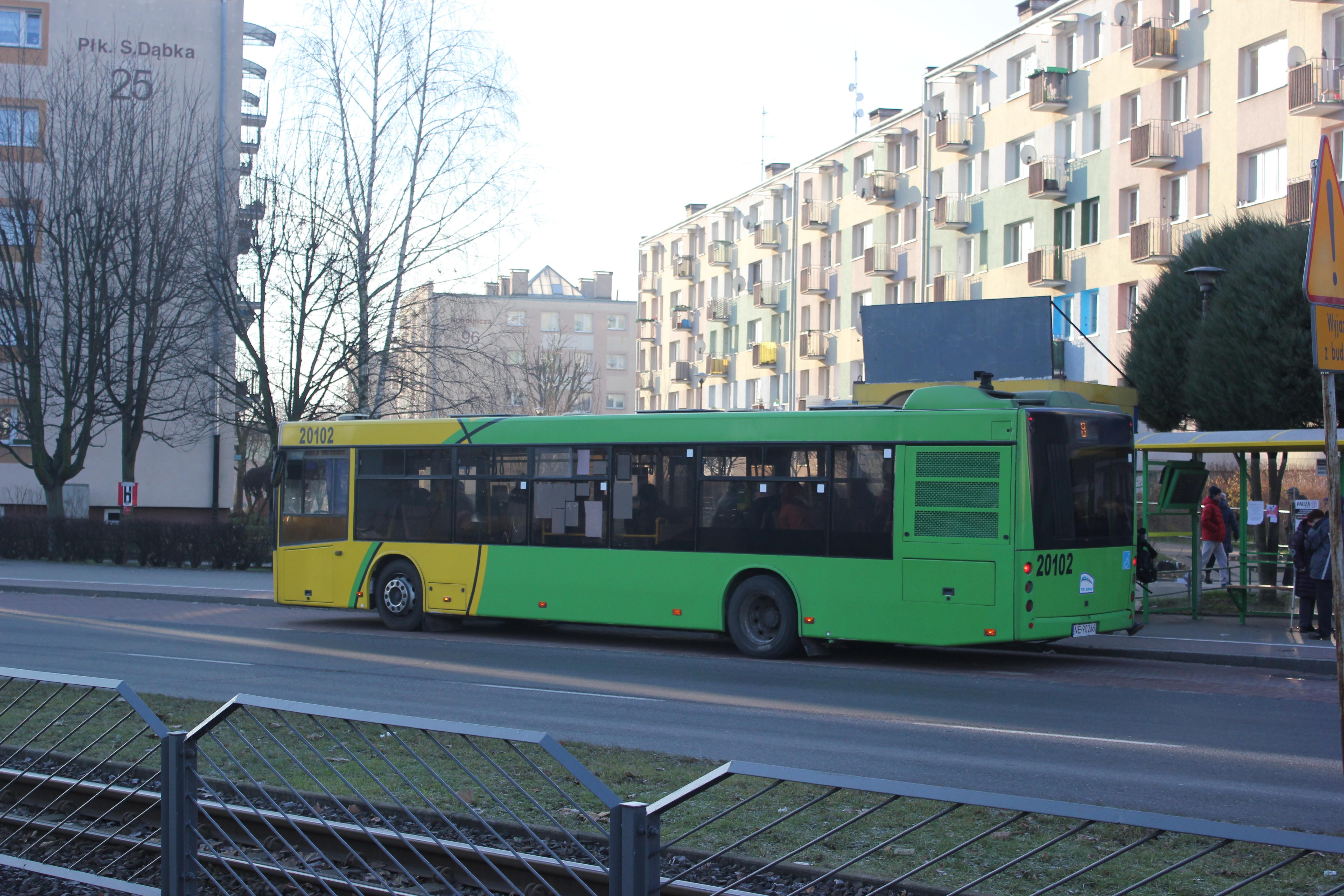 Objazd na liniach nr 6, 8 i 17