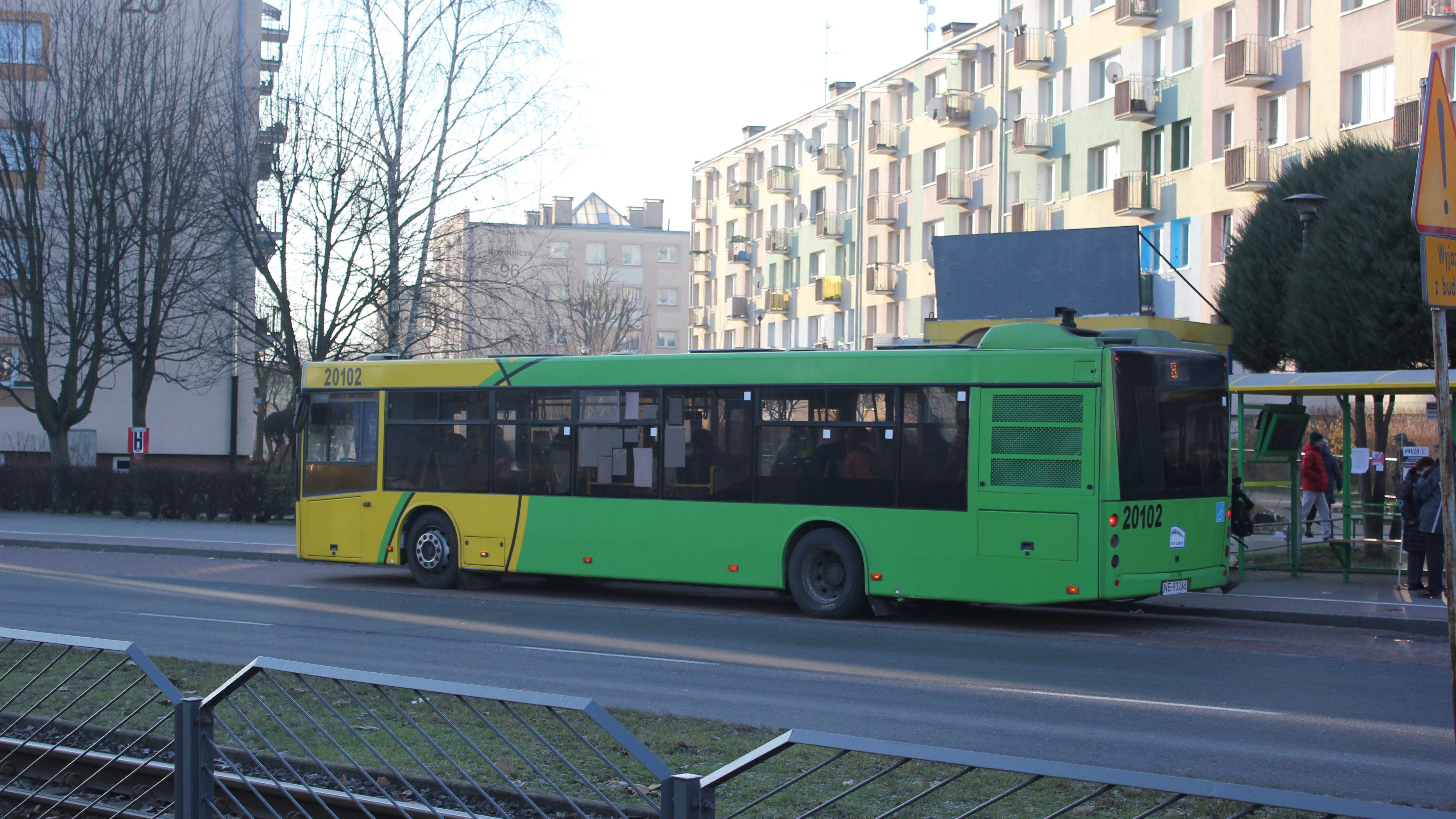 Funkcjonowanie komunikacji miejskiej w Noc Sylwestrową i Nowy Rok