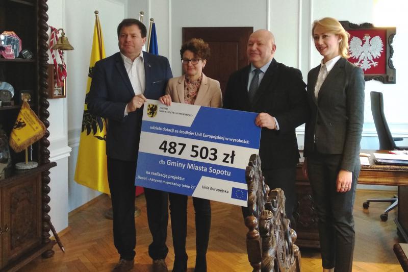 Prawie pół miliona z UE na aktywizację zawodową w Sopocie