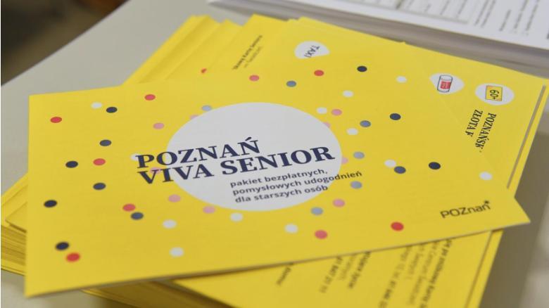 Poznań wspiera seniorów